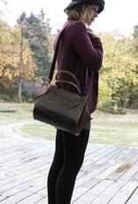 Leder Handtasche braun, Ledertasche MARY P.