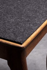 Trapeze seat pad made to measure, felt 5 mm, 100% virgin wool