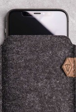 iPhone 12 11 Pro Max mini SE felt sleeve phone case SOFTWERK 2.0