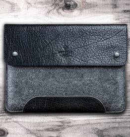 SCHLIESSFACH für iPad Pro / Air Tasche Leder Filz Hülle