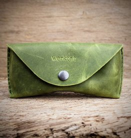 Sichtschutz, the glasses case, green