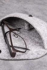 felt glasses case SICHTSCHUTZ