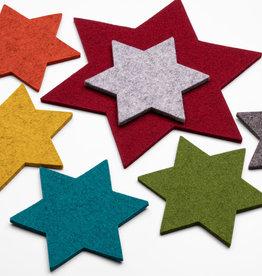 felt star – 100% virgin wool – 5 mm thick