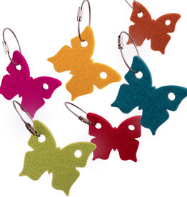 felt keychain butterfly – small gift tag