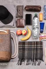 """Matchsack, Rucksack Filz natur meliert / Leder """"hazel"""" – MEERWERK als Tagesrucksack oder Freizeittasche für Damen und Herren"""
