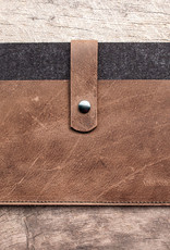 Surface Pro 7, X, Laptop 4, Book / Go 3 felt leather case sleeve FACHWERK suitable crafted for Microsoft Surface