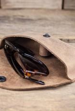 leather glasses case brown eyeglasses case