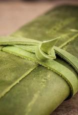 Leder Brillenetui grün, Werkschutz