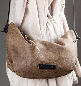 Umhängetasche Hobo Bag COACHELLA caramel, Ledertasche, Büffelleder, Handtasche