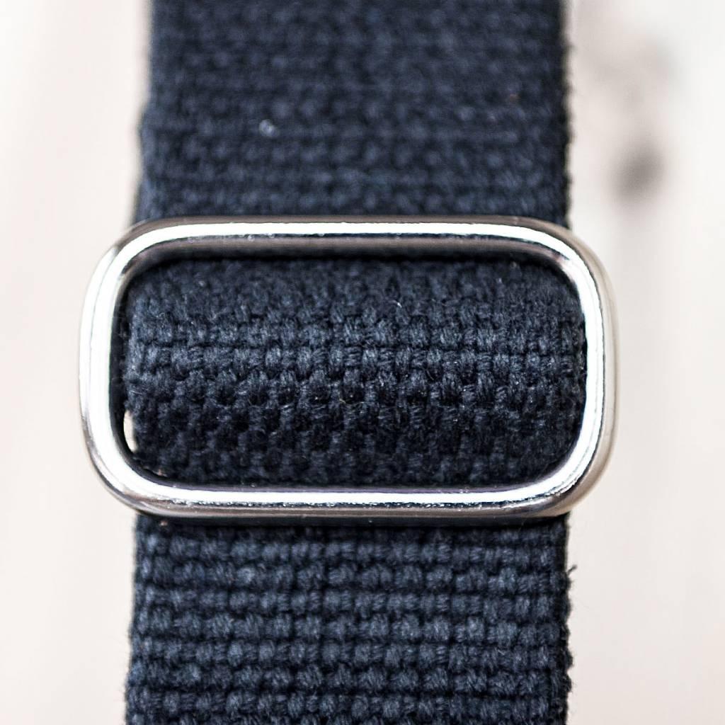 Umhängetasche aus blauem Leder und Filz, Charakterstück WT0814, Filz Messenger Bag