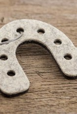 Filz Schlüsselanhänger Hufeisen als Glücksbringer