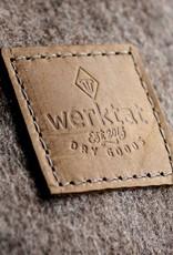 "small duffle bag, match bag, gym bag, felt, leather ""hazel"", backpack felt bag, leather bag, Meerwerk"