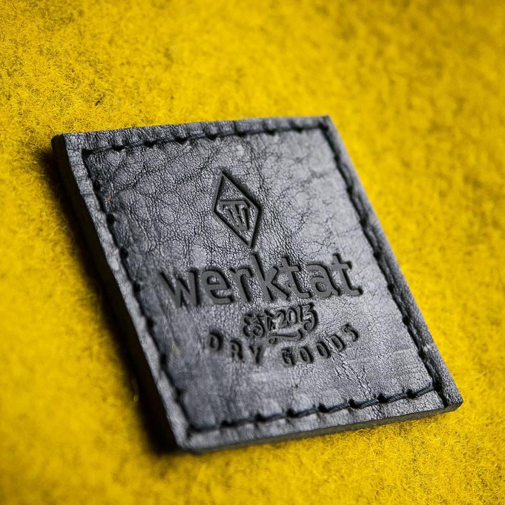 "small duffle bag, match bag, gym bag, felt, leather ""black"", backpack felt bag, leather bag, Meerwerk"
