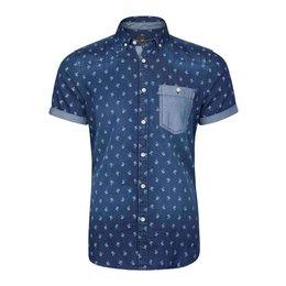 WE Heren Slim Fit Overhemd