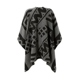 Salty Dog Poncho Gray