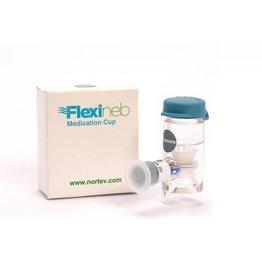 Flexineb 2 medicatie cup - Grijs (standaard)