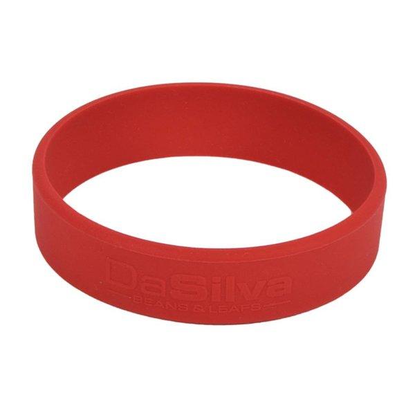 DaSilva Siliconenband RED 1805C t.b.v. theeglas Solo