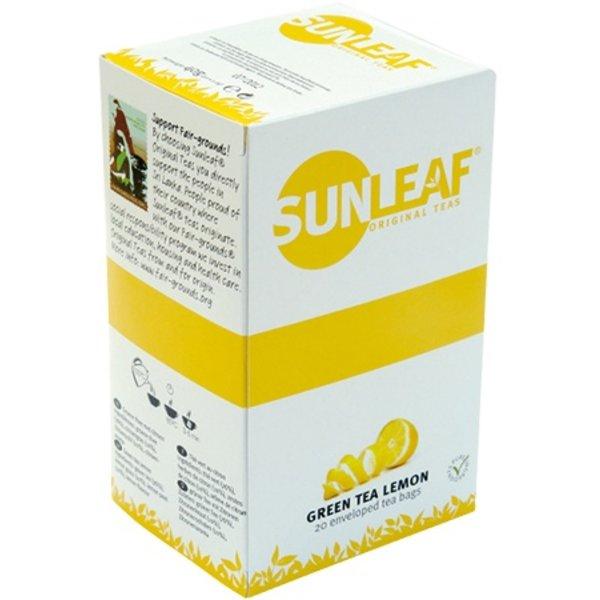 SUNLEAF Original Green Tea Lemon