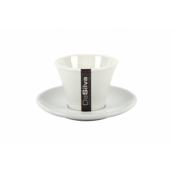 DaSilva Koffie en/of Cappuccino Kop en Schotel