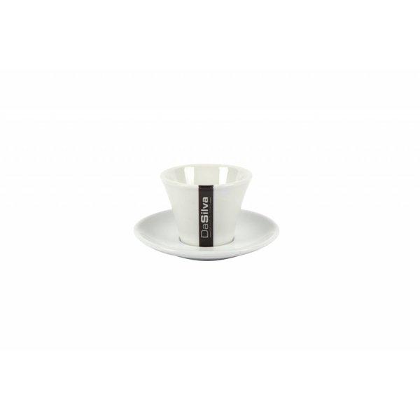 Da Silva Espresso kop en schotel