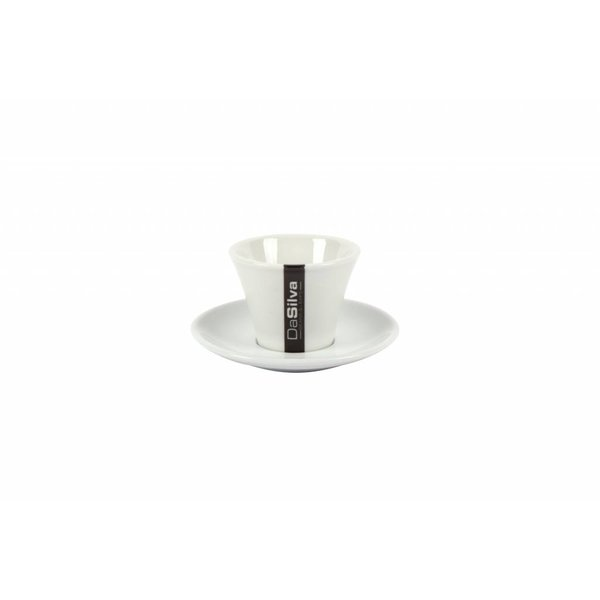 DaSilva Espresso kop en schotel