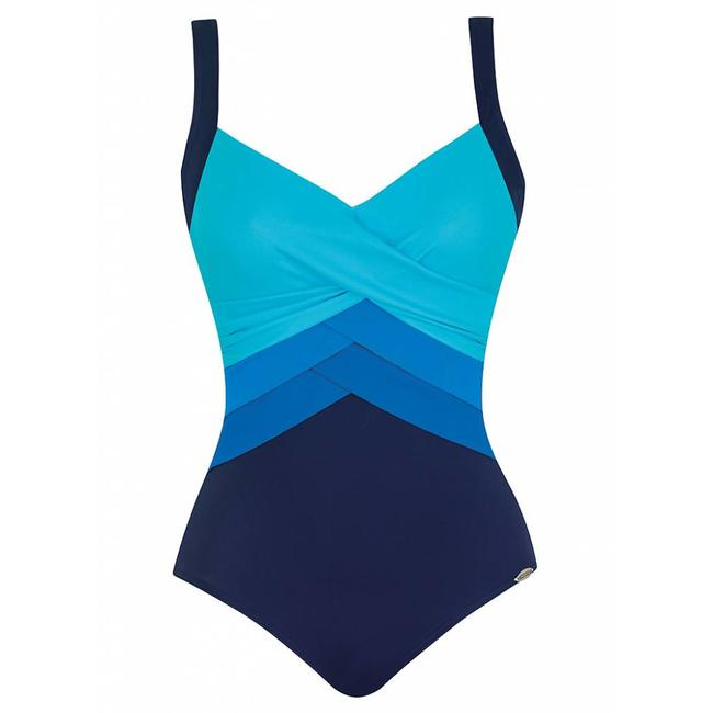 Sunflair Badeanzung  Orange Laguna Blau