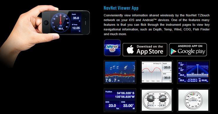 FURUNO NAVNET viewer app
