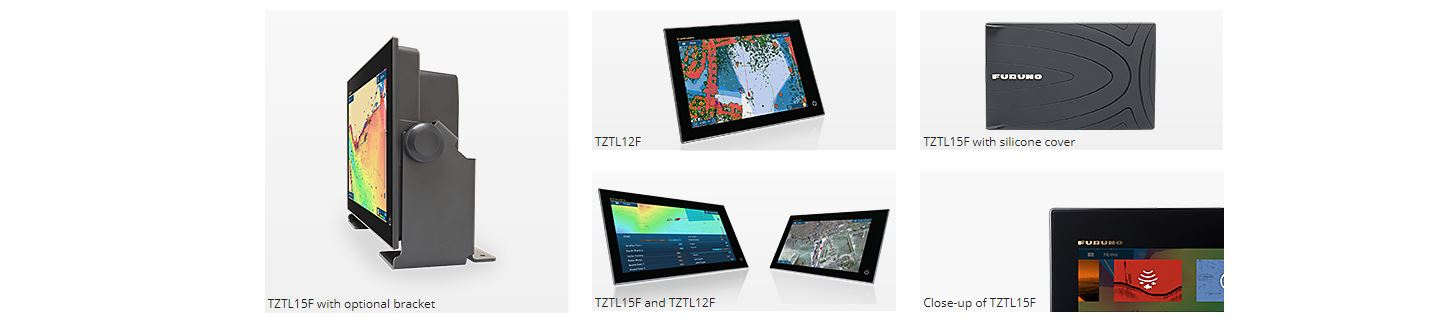 FURUNO NAVnet Multifunctionele beeldschermen TZTL12F en TZTL14F