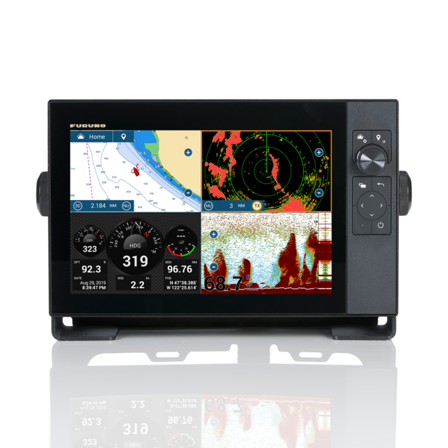 FURUNO TZT12F HYBRID-12 inch  Multifunktions-Touch-IPS- Display NAVNET TZT3