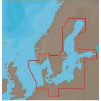 C-Map C-Map 4 D kaarten WIDE en LOCAL