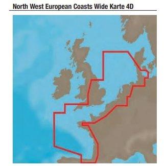 C-Map 4 D kaarten WIDE en  LOCAL