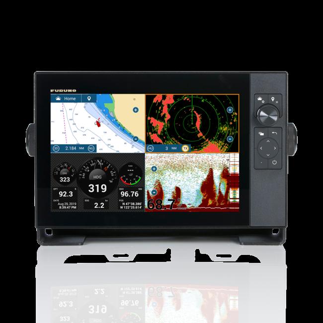 FURUNO TZT9F HYBRID 9 inch Multifunctioneel-Touch-IPS Display Compact  NAVNET TZT3