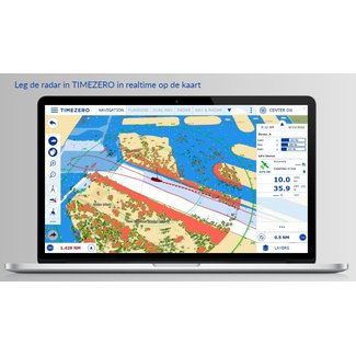FURUNO RIVER RADAR PC NAVIGATION with PC Radar Module Software and Chart  from TIMEZERO