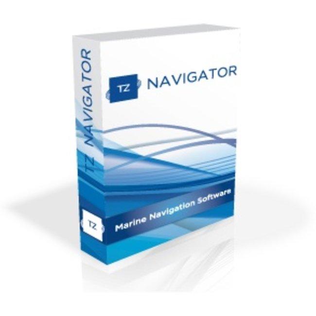 TIMEZERO TimeZero Navigator incl. brede of mega brede kaart
