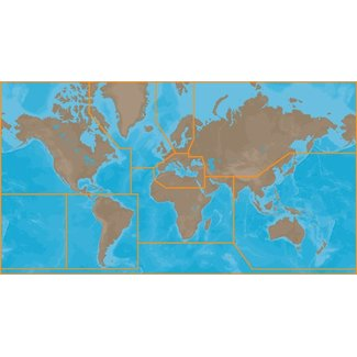 C-Map C-Map 4D  Karten WIDE