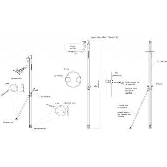AC Antennas LMP-2 houder