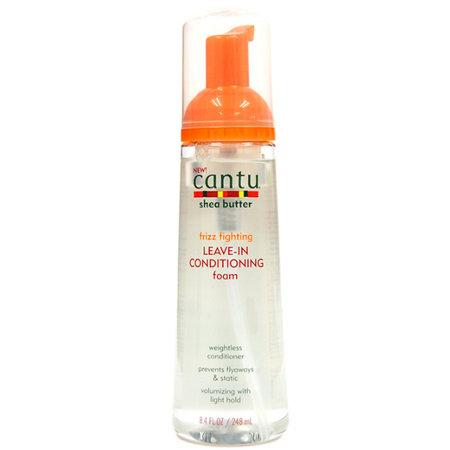 CANTU Frizz Fighting Leave-In Conditioning Foam 8.4 oz