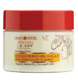 CREME OF NATURE - ARGAN OIL Strengthening Milk Masque 11.5 oz