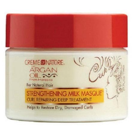 CREME OF NATURE - ARGAN OIL Strengthening Milk Masque 11.5 oz