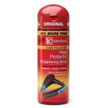 Hair Polisher Heat Protector Straightening Serum 6 oz