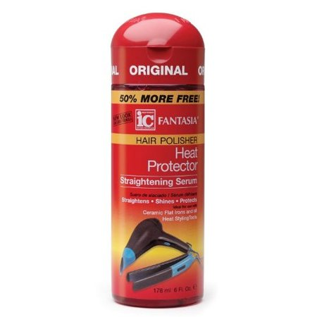 FANTASIA IC Hair Polisher Heat Protector Straightening Serum 6 oz