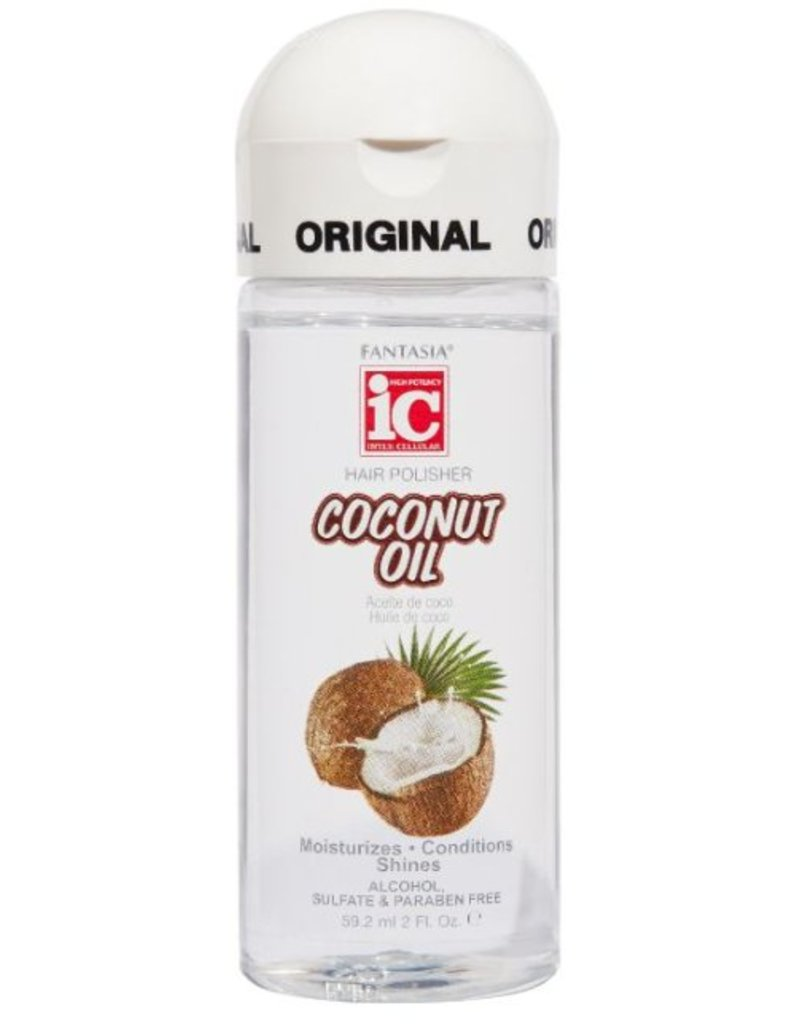 FANTASIA IC Hair Polisher Coconut Oil Serum 6 oz