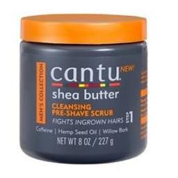 CANTU Men's Cleansing Pre-Shave Scrub 8 oz