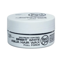 Bright White Aqua Hair Wax Full Force 150 ml.