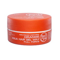 Orange Aqua Hair Gel Wax Full Force 150 ml.