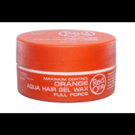 REDONE Orange Aqua Hair Gel Wax Full Force 150 ml.