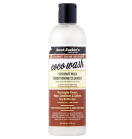 AUNT JACKIE'S Coconut Milk Conditioning Cleanser 12 oz.
