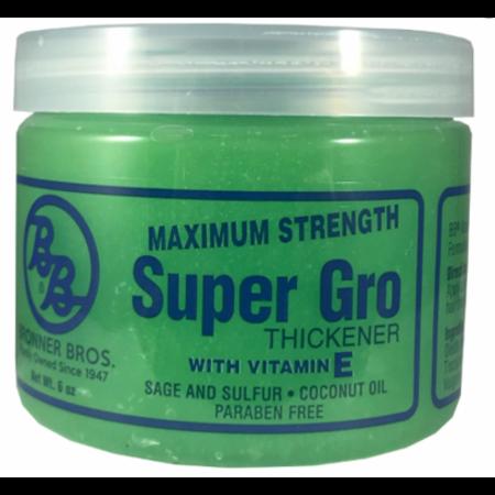 BRONNER BROTHERS Maximum Strength Super Gro Conditioner 6 oz