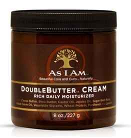 AS I AM Double Butter Cream 8 oz
