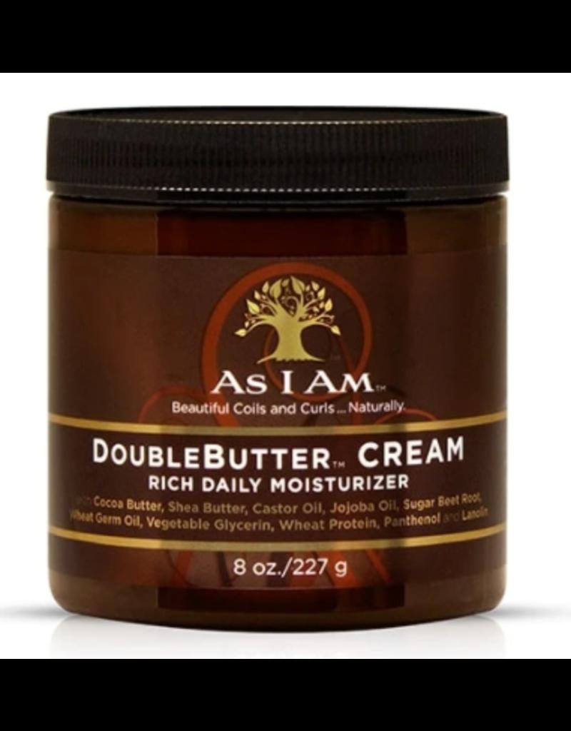 AS I AM Double Butter Cream 8 oz